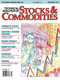 Latest Article in Stocks & Commodities Magazine September Issue