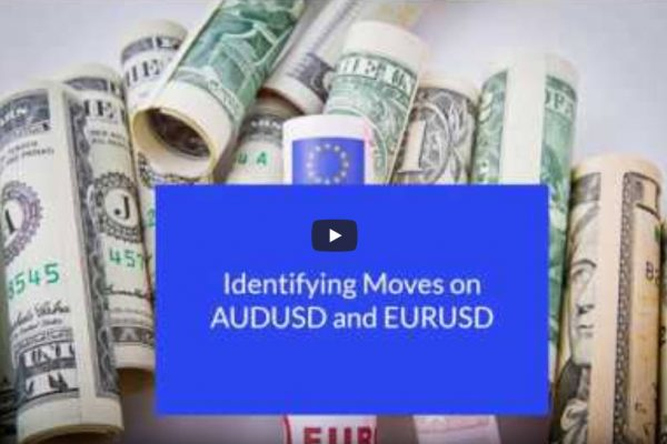 Identifying Moves on AUDUSD and EURUSD with Traders Help Desk